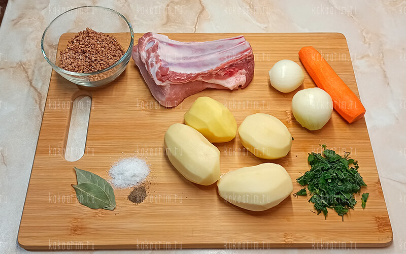 Фото1 Как варить гречневый суп