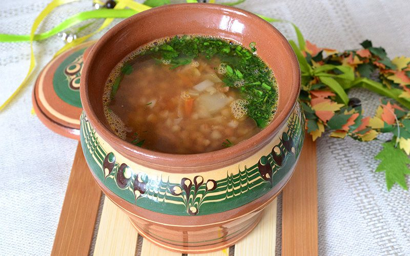 Фото Как варить гречневый суп
