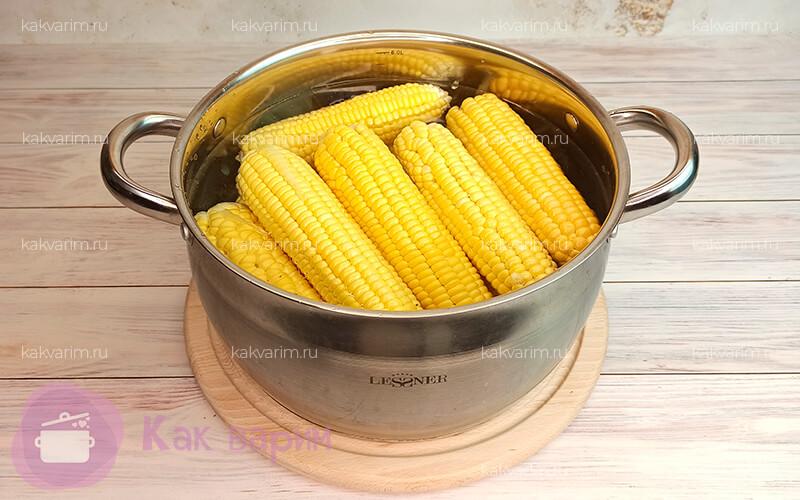 Фото3 Как варить кукурузу