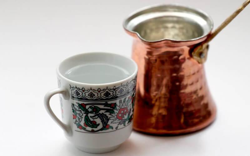 Фото2 Как варить кофе в турке пошагово