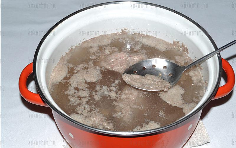 Фото 6 как варить свиные ребра