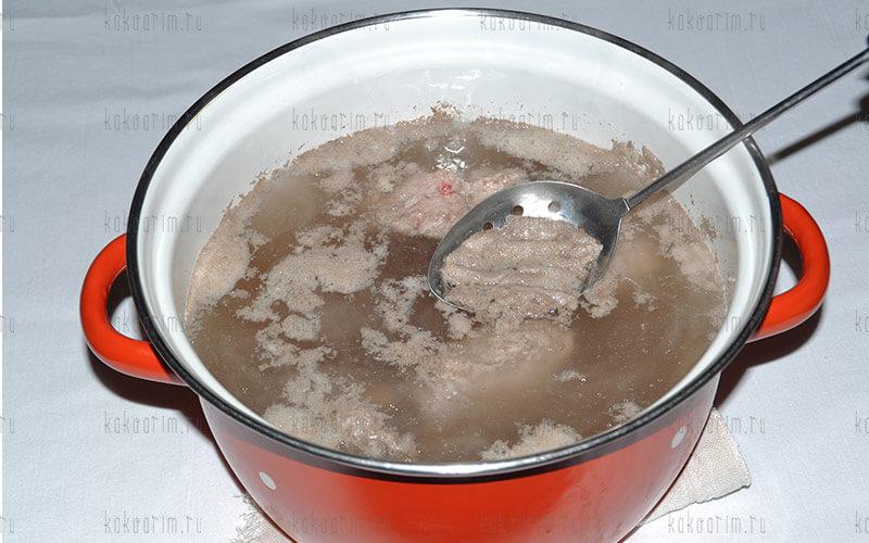 Фото 7 как варить свиные ребра