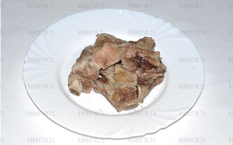 Фото 8 как варить свиные ребра