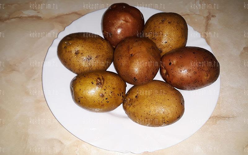 Фото 1 как варить картошку в кастрюле