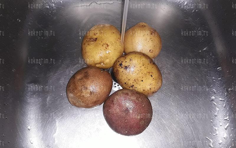 Фото 2 как варить картошку в мундире