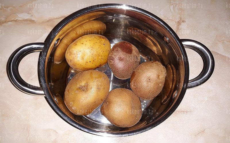 Фото 3 как варить картошку в мундире