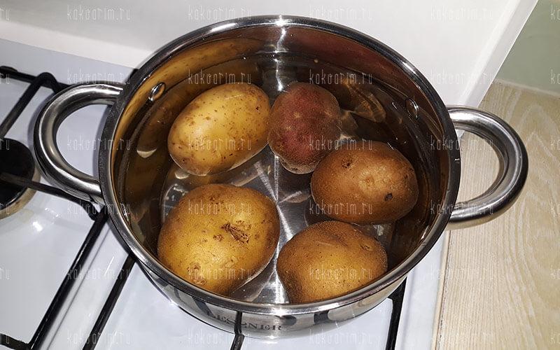 Фото 5 как варить картошку в мундире