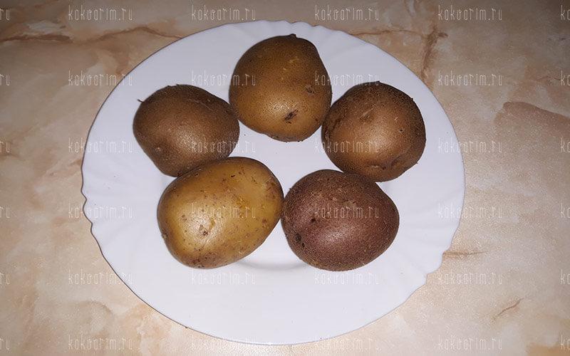 Фото 7 как варить картошку в мундире