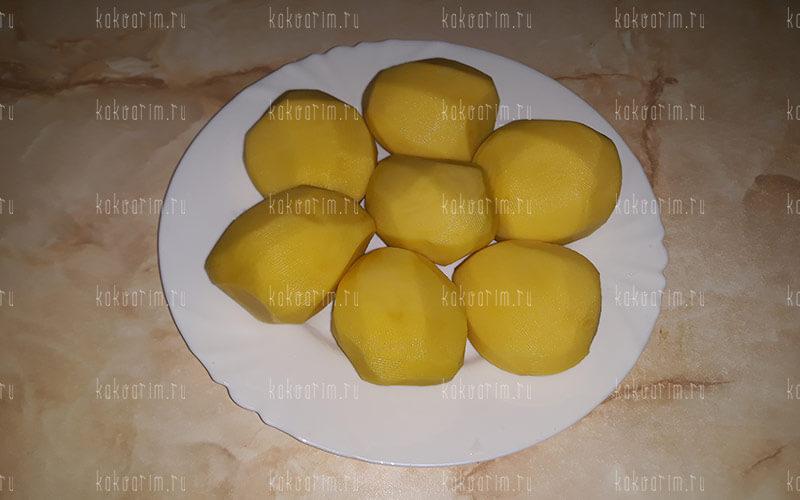 Фото 3 как варить картошку в кастрюле