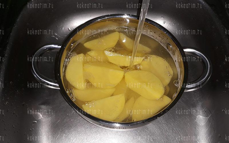 Фото 5 как варить картошку в кастрюле