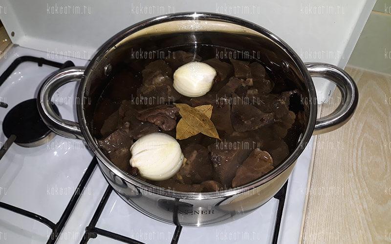 Фото 9 как варить легкое свиное
