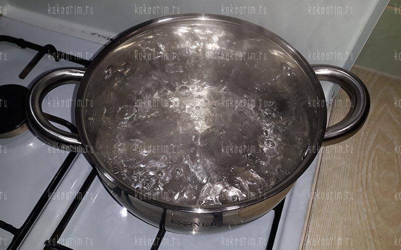Фото 5 как варить рожки в кастрюле