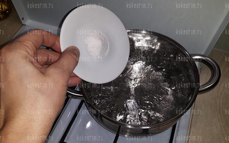 Фото 6 как варить рожки в кастрюле