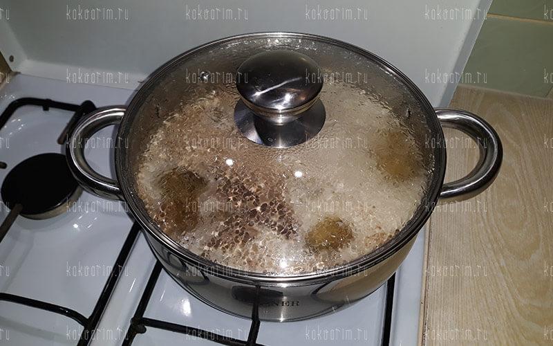 Фото 8 как варить свиную печень